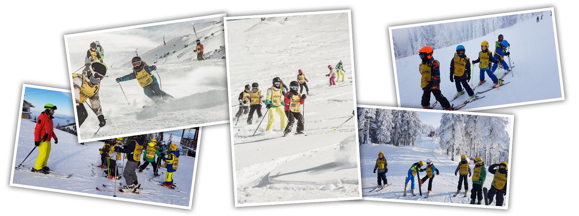 Activitati sportive de iarna pentru copii | Sport Ski Club | Brasov