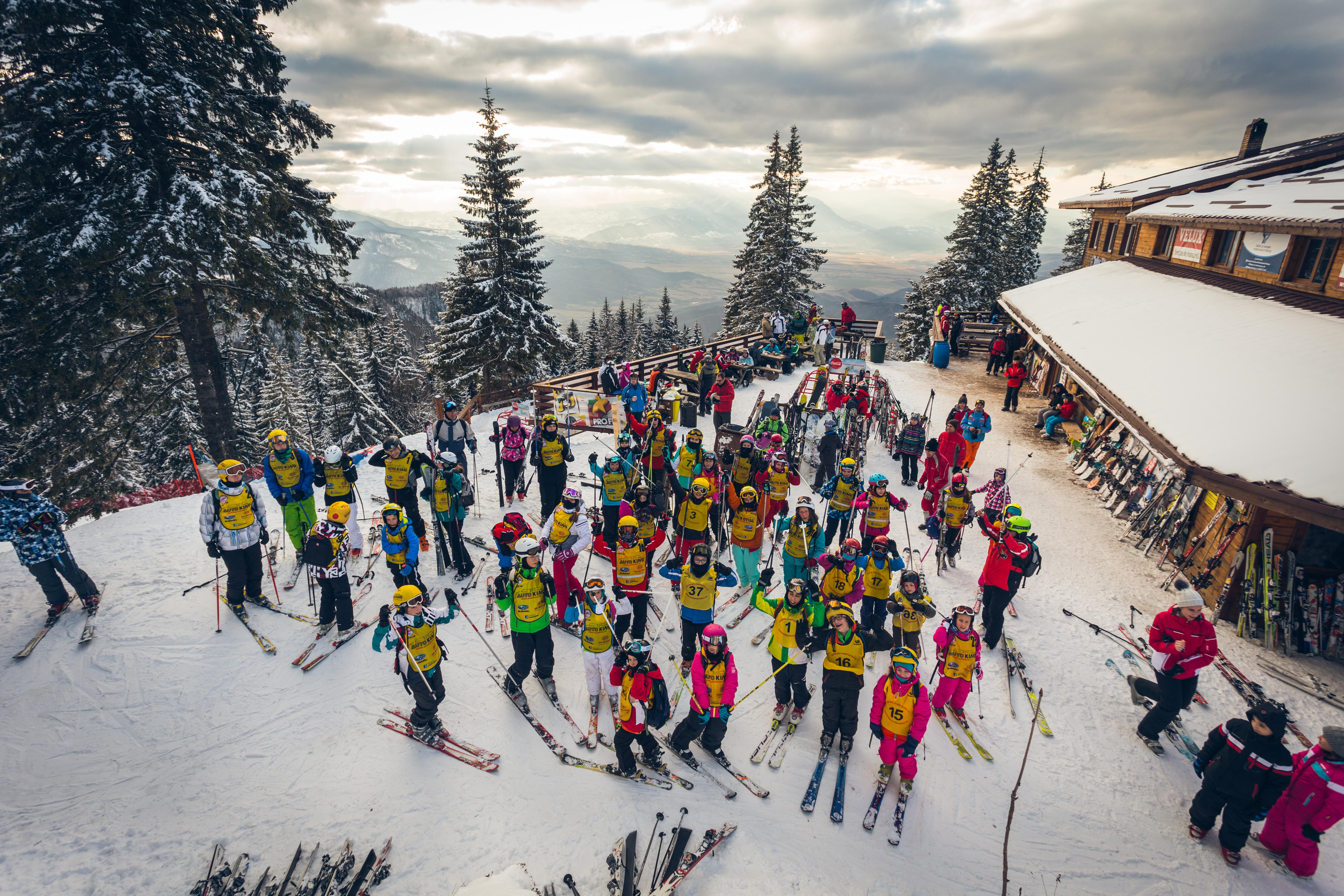 Cursuri de schi pentru copii, Brasov, 2014-2015