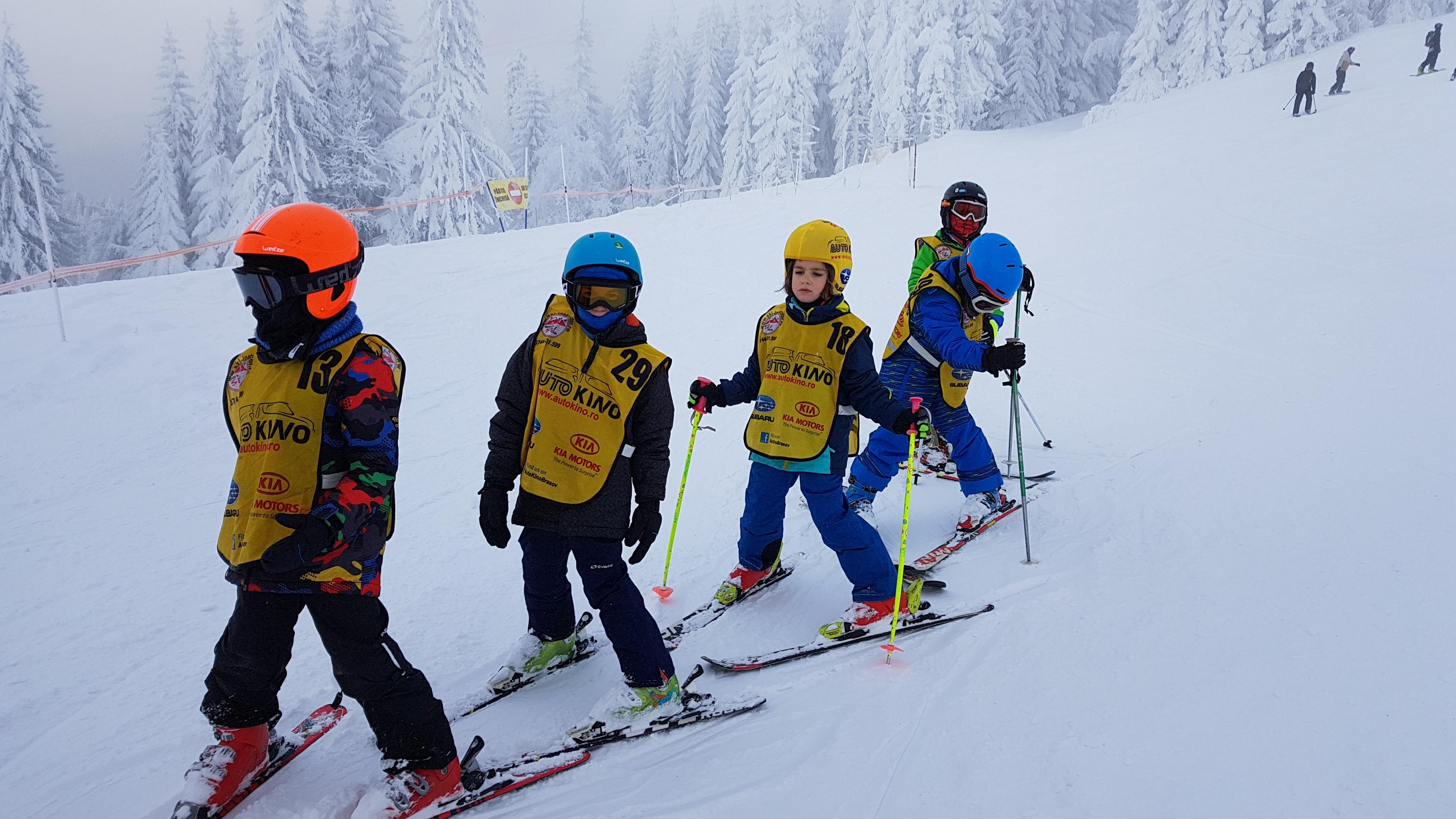 Cursuri de ski - distractie de vacanta