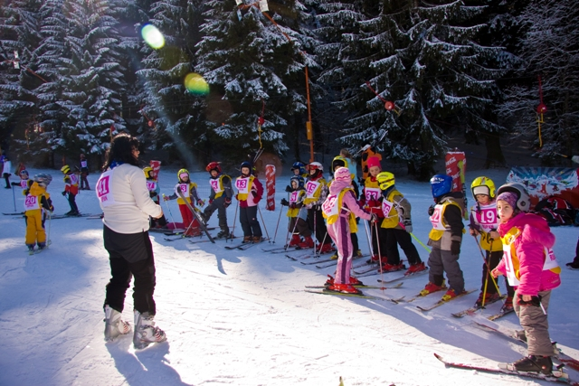 Cursuri de schi Gradinita Micul Print 2014
