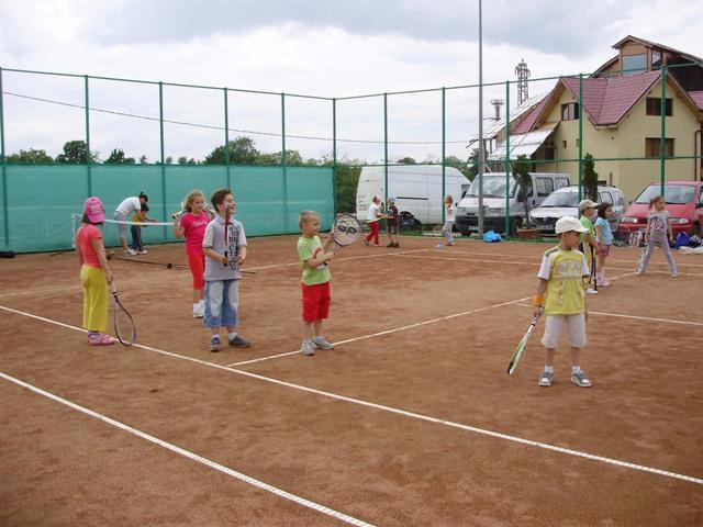Cursuri de tenis copii 2012