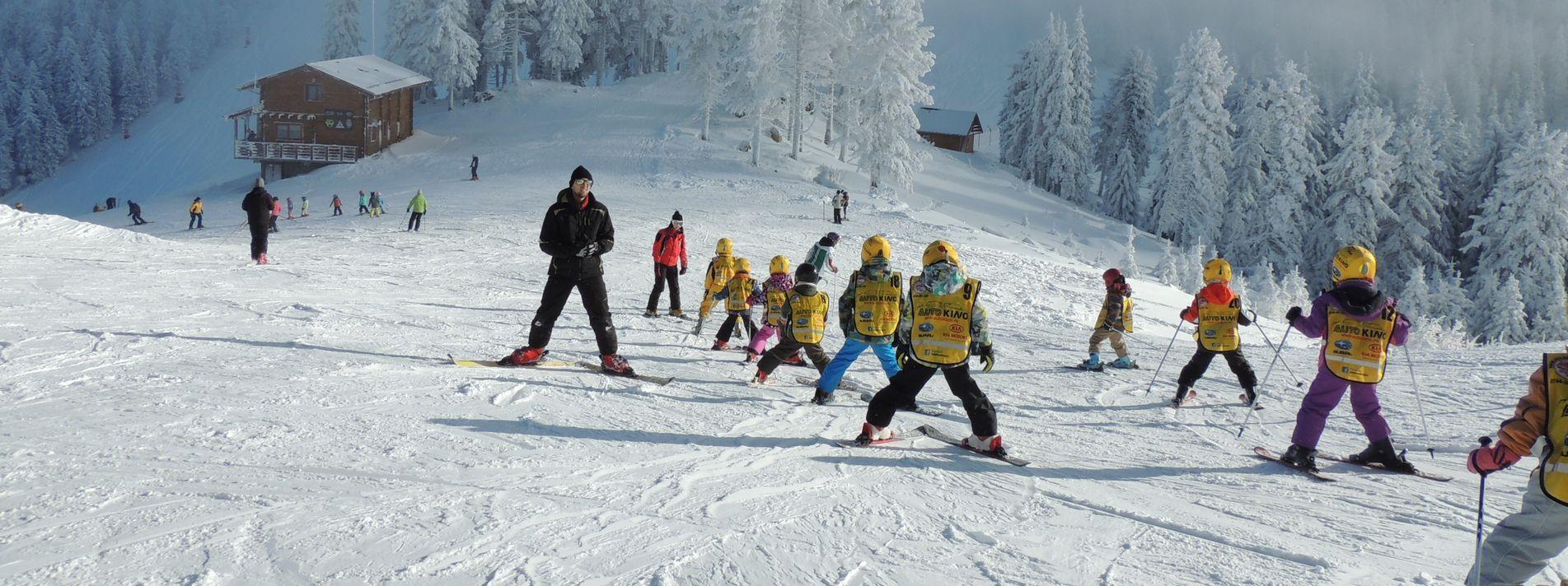 Cursuri colective schi pentru incepatori | Piticii zapezii | Sport Ski Club
